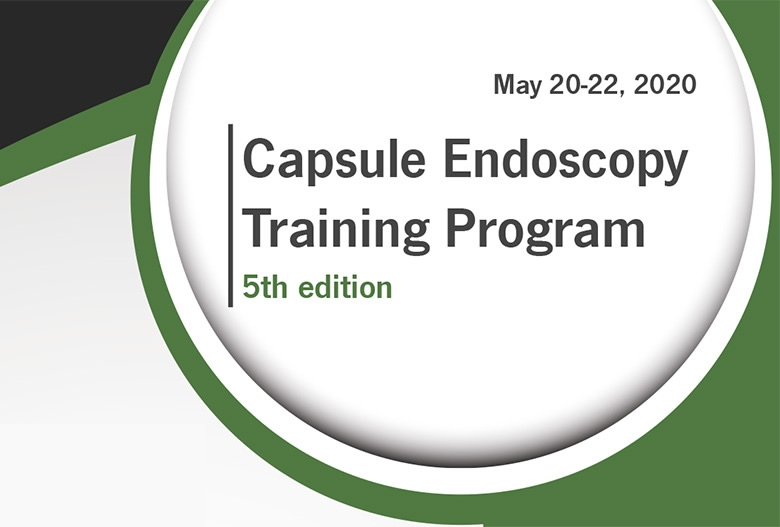 Save the date: 5th Capsule Endoscopy Training Program